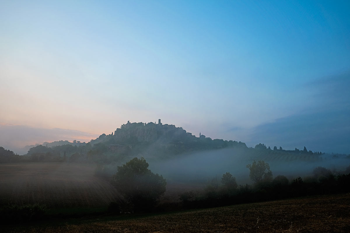 Sunrise in Orvieto
