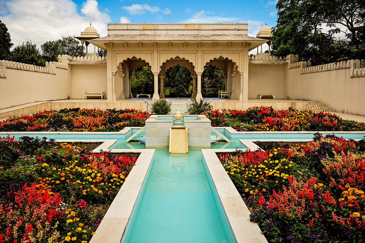 Indian Char Bagh Garden at Hamilton Gardens