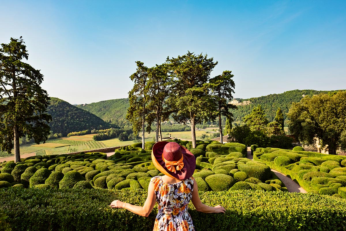 Sheri at Marqueyssac in France